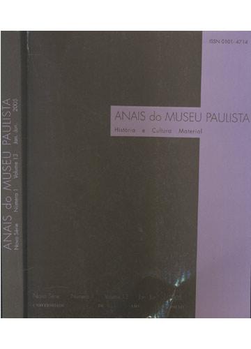 Anais do Museu Paulista - Nova Série - Volume 13 - Número 1 - Jan.-Jun. - 2005