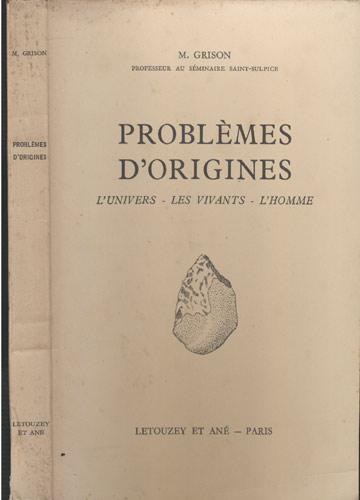 Problèmes d'Origines