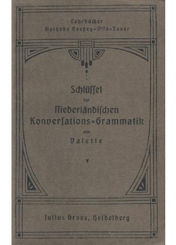 Niederländischen Konversarions-Grammatik