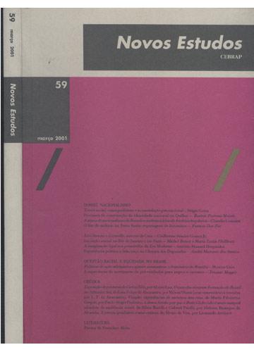 Novos Estudos - Cebrap - Nº. 59