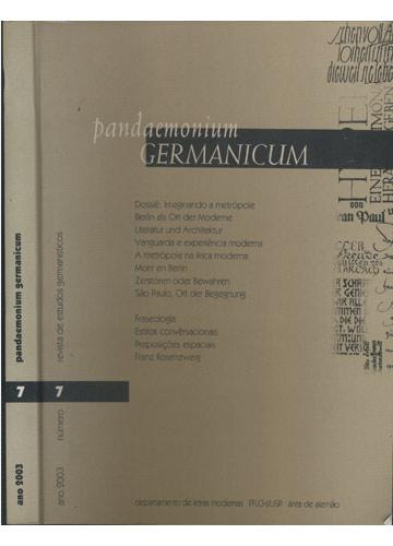 Pandaemonium Germanicum - Nº 7 - 2003