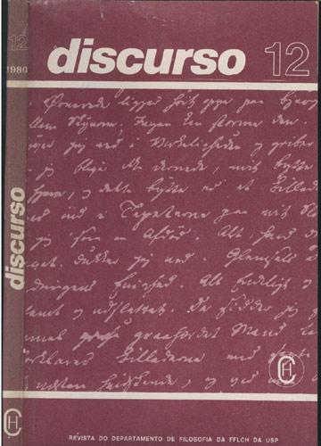 Discurso - Nº. 12 - 1980