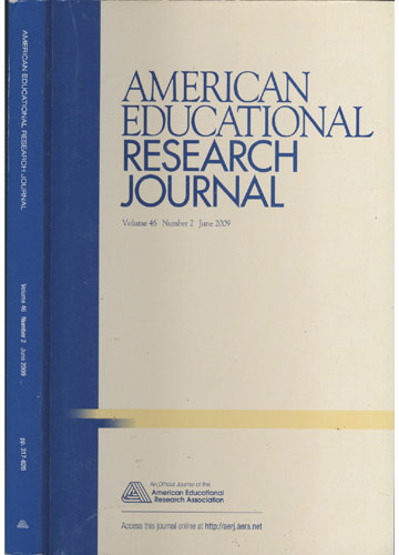 American Educational Research Journal - Volume 46 - Number 2 - June 2009