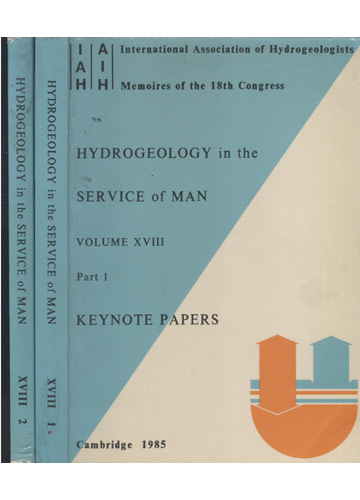 Hydrogeology in the Service of Man - 2 Volumes