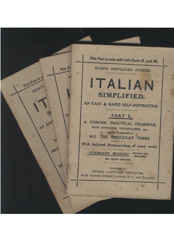 Italian Simplified - 3 Volumes