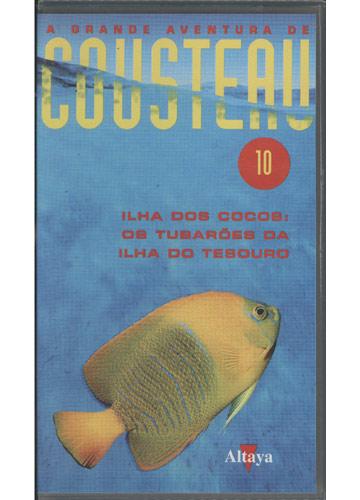 Ilha dos Cocos - Os Tubarões da Ilha do Tesouro - A Grande Aventura de Cousteau - Nº 10
