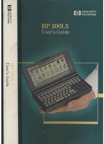 HP 200LX - User's Guide