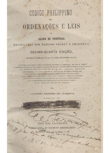 Codigo Philippino - 2 Volumes