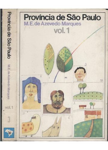 Província de São Paulo - Volume 1