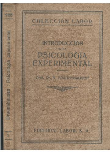 Psicologia Experimental - Introduccion a la Psicologia Experimental