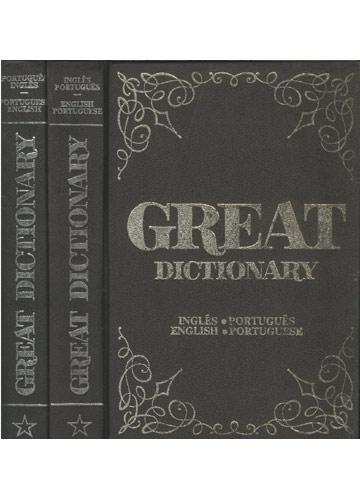 Great Dictionary - Português/Inglês - English/Portuguese - 2 Volumes
