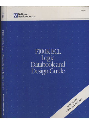 F100K ECL Logic Databook and Design Guide