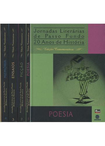 Jornadas Literárias de Passo Fundo - 4 Volumes