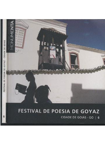 Festival de Poesia de Goyaz - Cidade de Goiás - GO