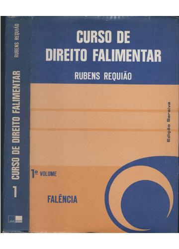 Curso de Direito Falimentar - Volume 1