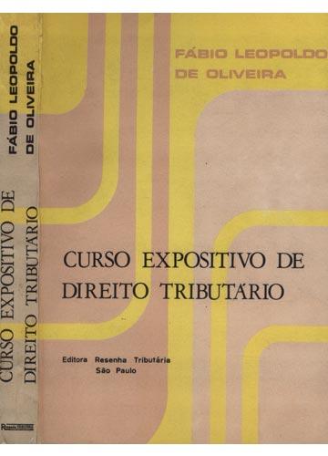 Curso Expositivo de Direito Tributário
