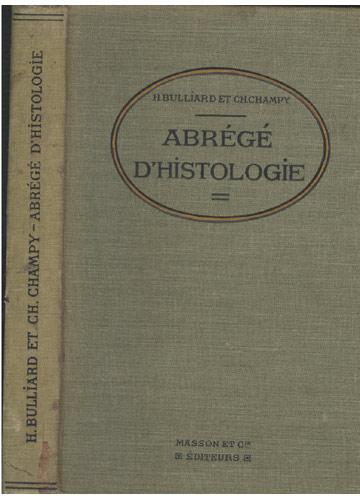 Abrégé D'Histologie