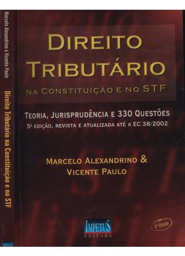 Direito Tributário na Constituição e no STF