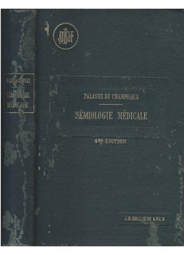 Sémiologie Médicale - Manuel de Sémiologie Médicale