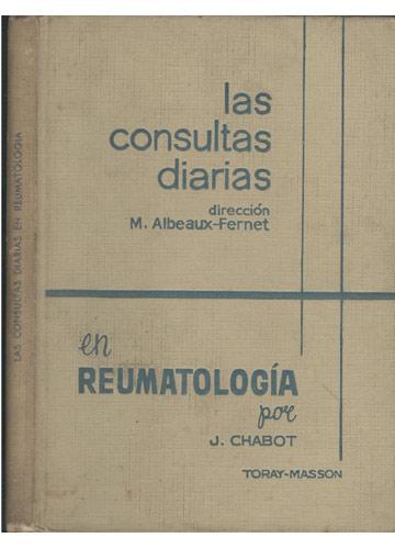 Las Consultas Diarias en Reumatologia