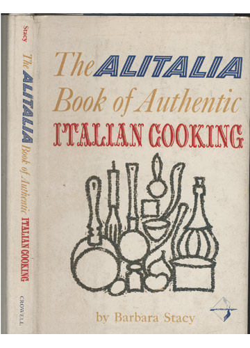 The Alitalia  - Book Of Authentic - Italian Cooking
