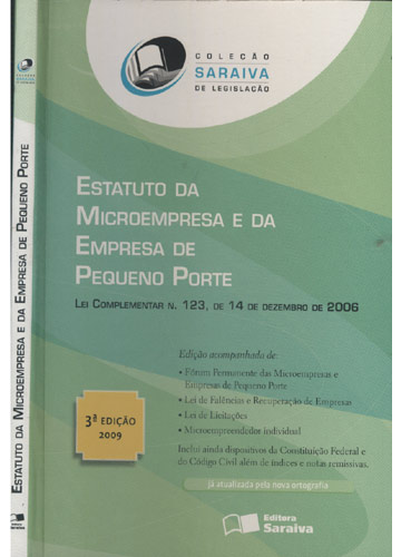 Estatuto da Microempresa e da Empresa de Pequeno Porte
