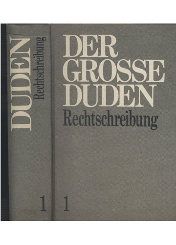 Duden - Der Grosse Duden - Volume 1