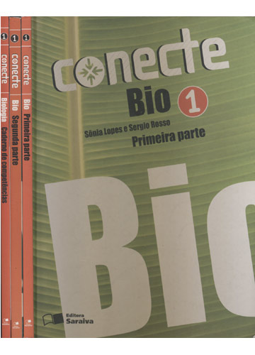 Conecte - Biologia 1 - 2 Volumes + Caderno de Competências