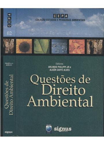 Questões de Direito Ambiental