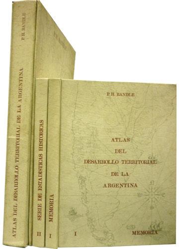 Atlas Del Desarrollo Territorial de la Argentina - 3 Volumes