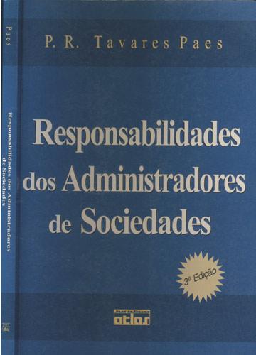 Responsabilidades dos Administradores de Sociedades