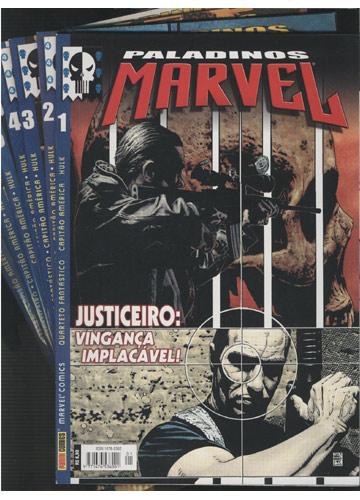 Paladinos Marvel - 7 Volumes - Do Nº.01 ao Nº.07