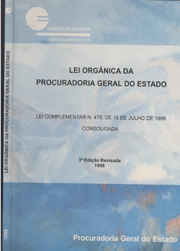 Lei Orgânica da Procuradoria Geral do Estado