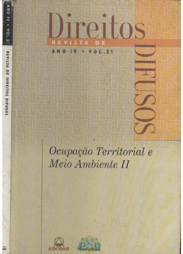 Revista de Direitos Difusos - Ano IV - Volume 21