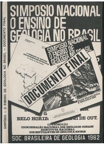 Simpósio - O Ensino de Geologia no Brasil - Documento Final