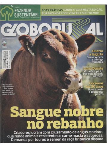 Globo Rural - Ano 2013 - Nº.333 - Sangue Nobre No Rebanho