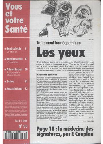 Votre Santé - 1996 - Nº.35