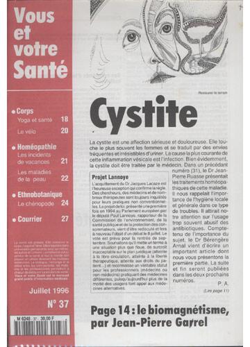 Vous Et Votre Santé - 1996 - Nº.37