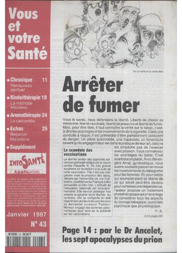 Vous Et Votre Santé - 1997 - Nº.43
