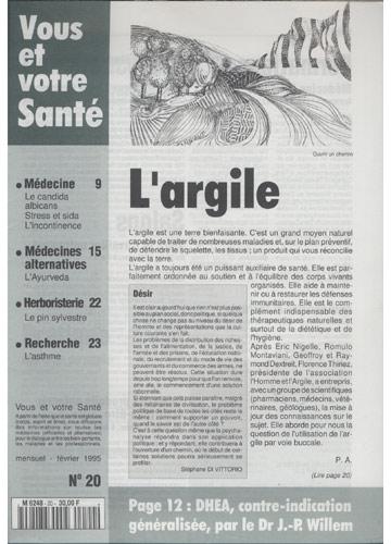 Vous Et Votre Santé - 1995 - Nº.20