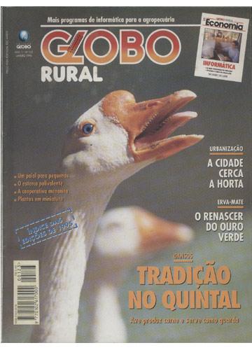 Globo Rural - Ano 1996 - Nº.123 - Gansos Tradição no Quintal