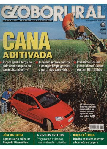 Globo Rural - Ano 2003 - Nº.214 - Cana Aditivada