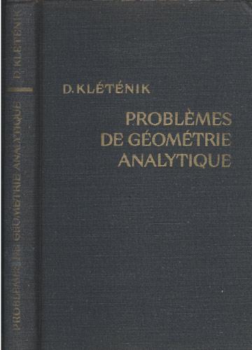 Problèmes de Géométrie Analytique