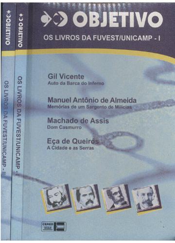 Os Livros da FUVEST/UNICAMP - 2 Volumes