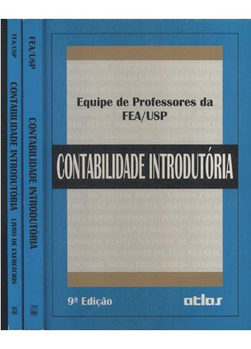 Contabilidade Introdutória + Livro de Exercícios - 2 Volumes