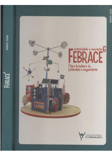 Febrace - Volume 6 - Anais 2008