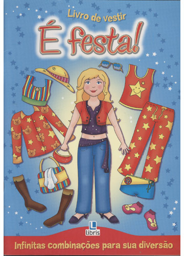 Livro de Vestir - É Festa! -