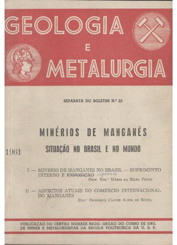 Geologia e Metalurgia - N°23
