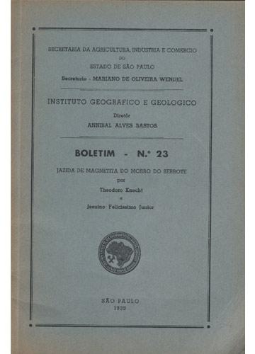 Boletim - Nº 23 - Jazida de Magnetita do Morro do Serrote