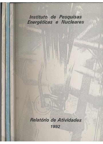 Relatório de Atividades - 3 Volumes